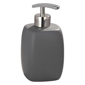Szary ceramiczny dozownik do mydła Wenko Faro