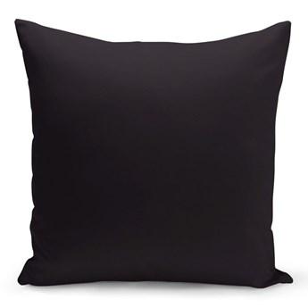 Czarna poduszka Kate Louise Simplo, 43x43 cm