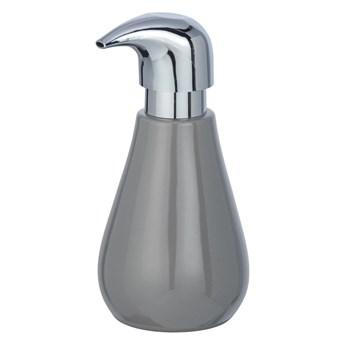 Szary ceramiczny dozownik do mydła Wenko Sydnes