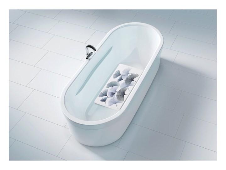 Mata łazienkowa Wenko Ginkgo, 70x40 cm Prostokątny 40x70 cm Kategoria Dywaniki łazienkowe
