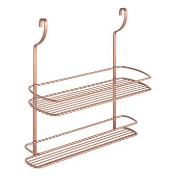 2-poziomowa półka wisząca Metaltex Copper