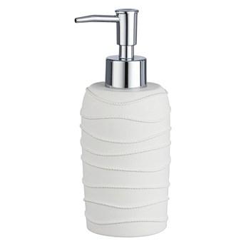 Biały dozownik do mydła Wenko Corda