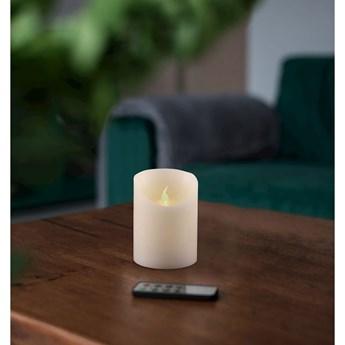 Świeczka LED z pilotem DecoKing Wax, wys. 10 cm