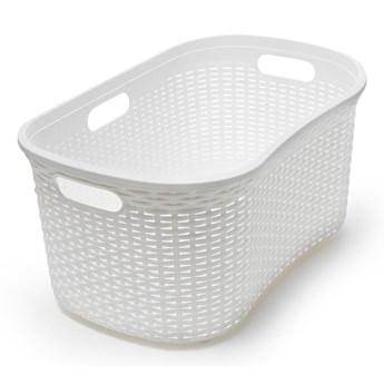 Kremowy kosz na pranie Addis Rattan Laundry Basket Calico