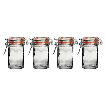 Zestaw 4 szklanych słoiczków Premier Housewares