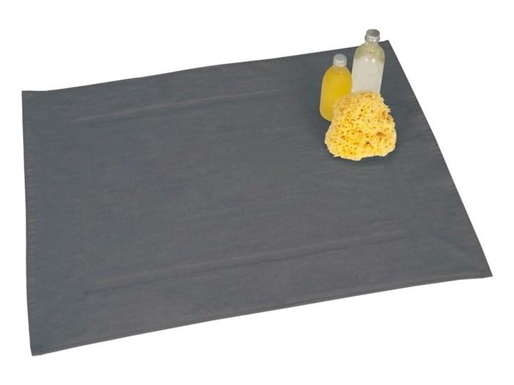 Szary bawełniany dywanik łazienkowy Wenko, 50x70 cm Bawełna Kategoria Dywaniki łazienkowe