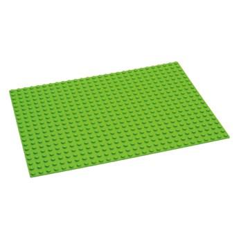 Zielona płytka do budowania pod klocki Hubelino