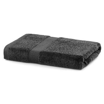 Ciemnoszary ręcznik kąpielowy DecoKing Marina, 70x140 cm
