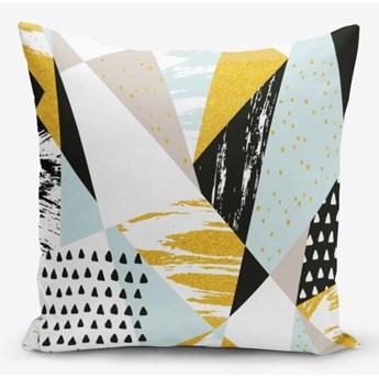 Poszewka na poduszkę z domieszką bawełny Minimalist Cushion Covers Liandnse Modern Geometric Sekiller, 45x45 cm