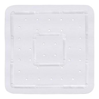 Biała mata prysznicowa Wenko Florida, 55x55 cm