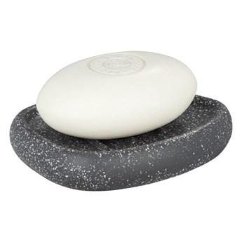 Szara ceramiczna mydelniczka Wenko Pion