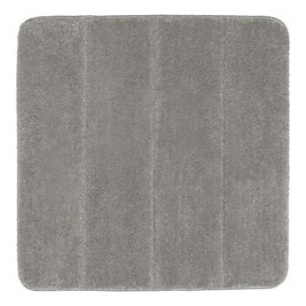 Jasnoszary dywanik łazienkowy Wenko Steps, 55x65 cm