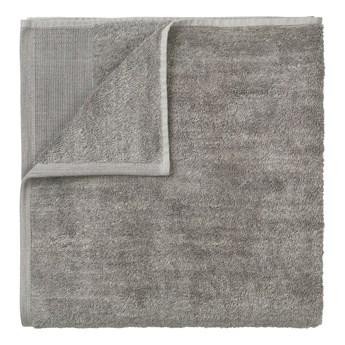 Szary bawełniany ręcznik Blomus, 100x50 cm