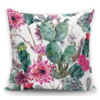 Poszewka na poduszkę Minimalist Cushion Covers Cactus And Roses, 45x45 cm
