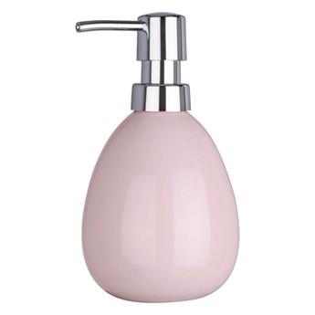 Różowy dozownik do mydła Wenko Polaris Pink