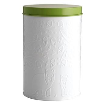 Biało-zielony pojemnik na żywność Mason Cash In the Forest, 2,9 l