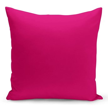 Różowa poduszka Lisa, 43x43 cm