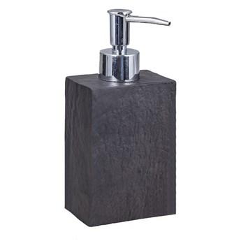 Czarny dozownik do mydła Tomasucci Slate