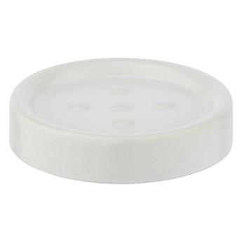 Matowa biała ceramiczna mydelniczka Wenko Polaris