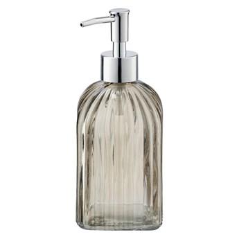 Brązowy szklany dozownik do mydła Wenko Vetro