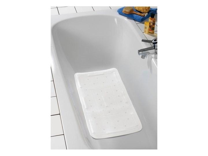 Biała mata do wanny Wenko Florida, 90x36,5 cm Syntetyk Kolor Biały