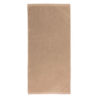 Brązowy ręcznik Artex Alpha, 50x100 cm