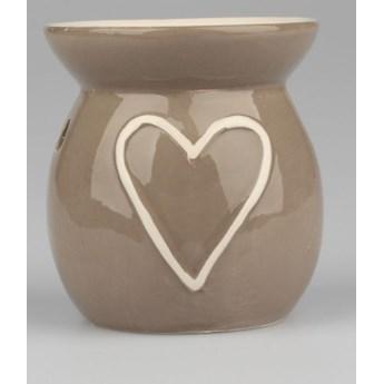 Ceramiczny kominek zapachowy Dakls Heart, wys. 10 cm