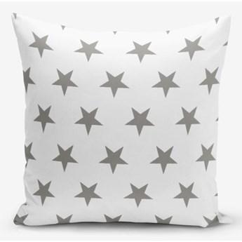 Poszewka na poduszkę z domieszką bawełny Minimalist Cushion Covers Grey Star, 45x45 cm