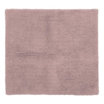 Różowy bawełniany dywanik łazienkowy Tiseco Home Studio Luca,60x60 cm