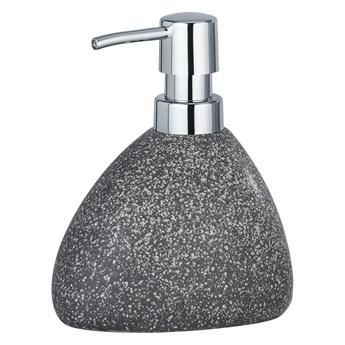 Szary ceramiczny dozownik do mydła Wenko Pion
