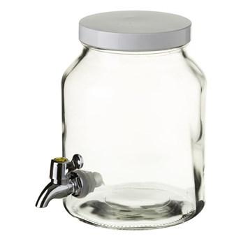 Słój szklany na lemoniadę z kranikiem Unimasa, 3,4 l