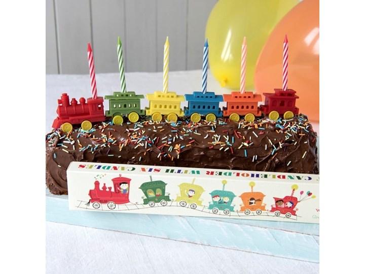 Zestaw 6 podstawek na świeczki urodzinowe Rex LondonTrain Kategoria Dekoracja wypieków