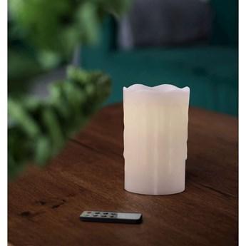 Świeczka LED z pilotem DecoKing Drip, wys. 12,5 cm