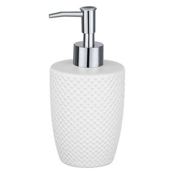 Biały ceramiczny dozownik na mydło Wenko Punto