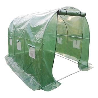 Tunel szklarniowy ogrodowy 200 x 300 cm 6 m2 foliowy