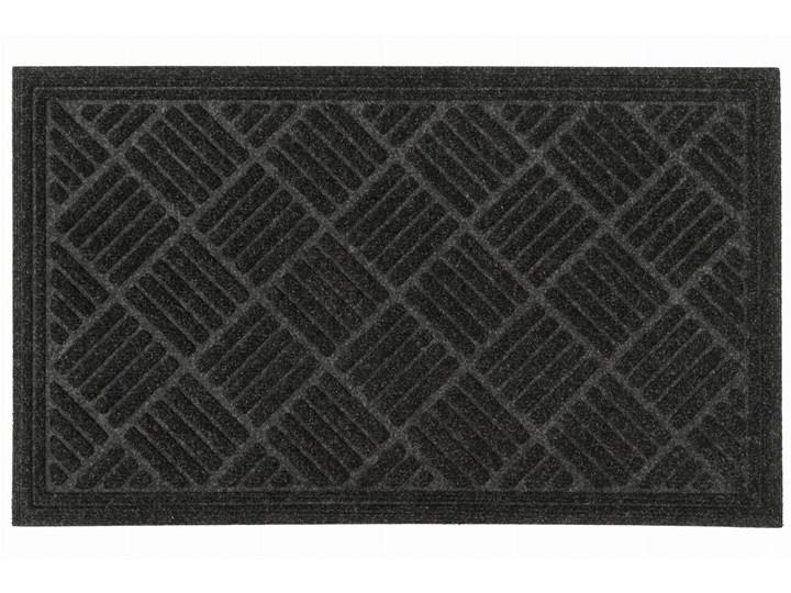 Contours - Parquet Czarna 60 x 90 cm Kolor Czarny Kategoria Wycieraczki