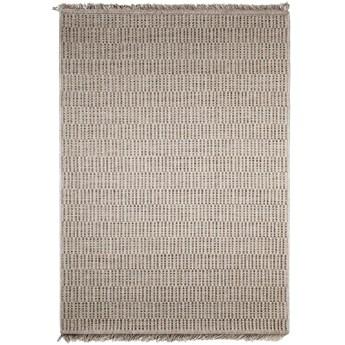 Dywan płasko tkany Indy Kratka Beżowy 80 x 150 cm