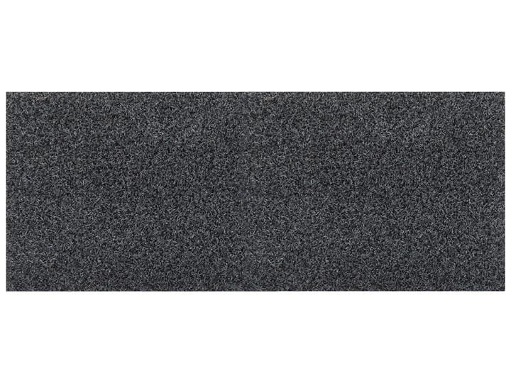 Wycieraczka Coir Antracytowa 80 x 200 cm Tworzywo sztuczne Kolor Szary