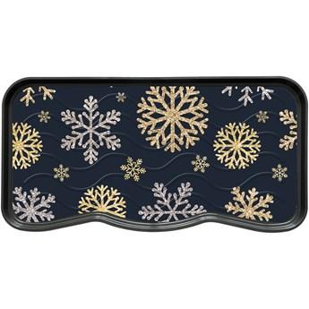 Ociekacz Drukowany Sparkle Snowflakes 38 x 75 cm