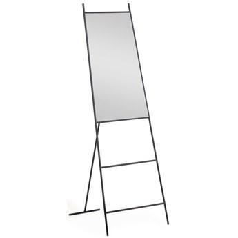 Lustro stojace Norland czarny metal 55 x 166 cm