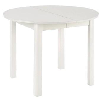Okrągły biały stół rozkładany - Ewilton