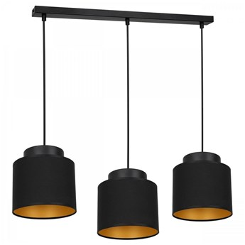 Żyrandol na lince FRODI 3xE27/60W/230V czarny