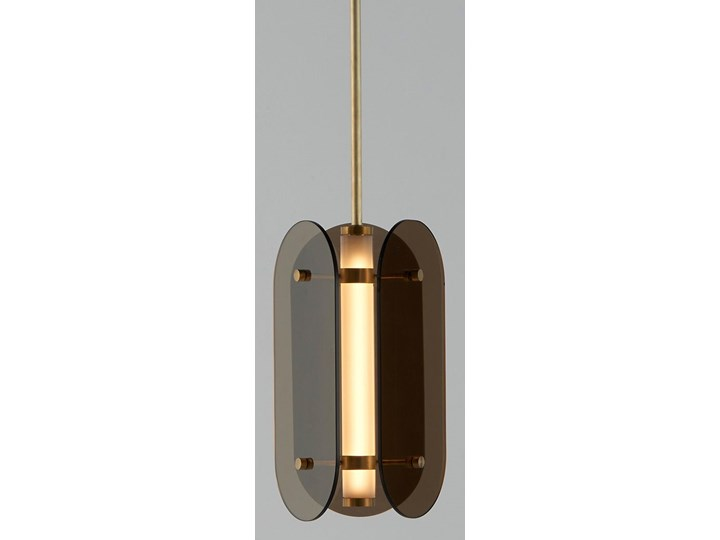 Escudo 2 - nowoczesna lampa wisząca LED 40cm Słupek ogrodowy Lampa LED Kategoria Lampy ogrodowe