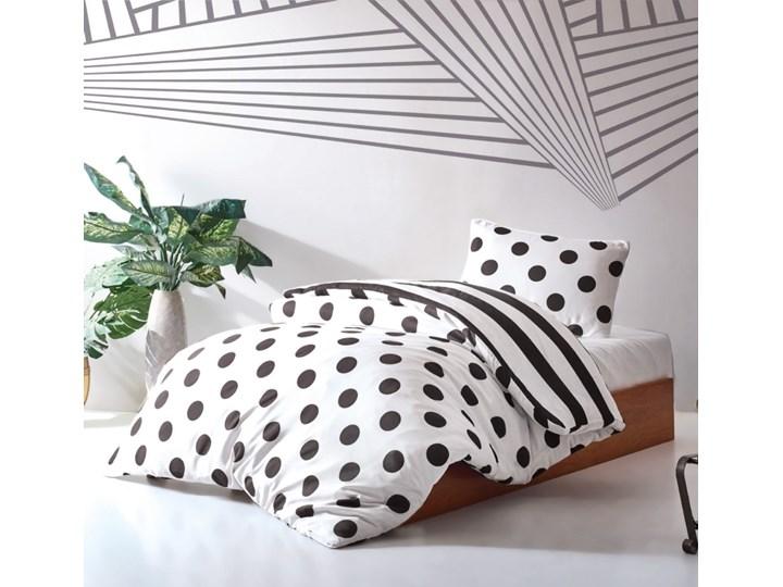 SELSEY Komplet pościeli Dots 160x220 cm z poszewką na poduszkę 50x70 cm i z prześcieradłem