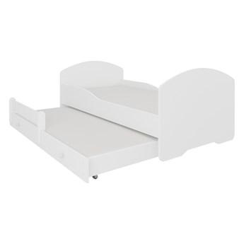 SELSEY Łóżko dziecięce podwójne Blasius 160x80 cm białe