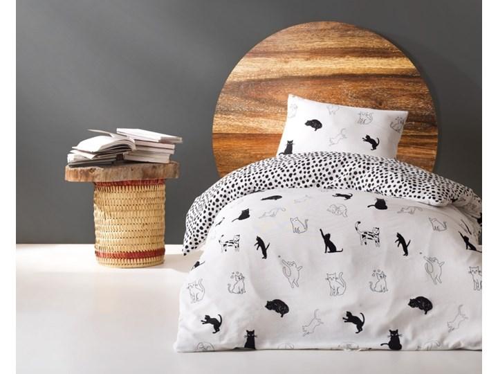 SELSEY Komplet pościeli Cats 160x220 cm z poszewką na poduszkę 50x70 cm i z prześcieradłem Bawełna Poliester Bawełna syntetyczna 160x240 cm Pomieszczenie Pościel do sypialni 160x200 cm Kategoria Komplety pościeli