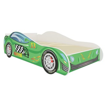 SELSEY Łóżko dziecięce Petuni 160x80 cm w kształcie samochodu