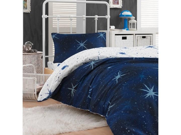 SELSEY Komplet pościeli Universe 160x220 cm z poszewką na poduszkę 50x70 cm i z prześcieradłem grana ...