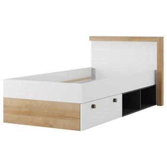 SELSEY Łóżko młodzieżowe Danela z szufladą 90x200 cm