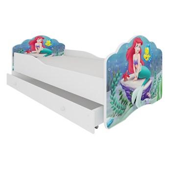 SELSEY Łóżko dziecięce Sissa 140x70 cm Arielka z szufladą
